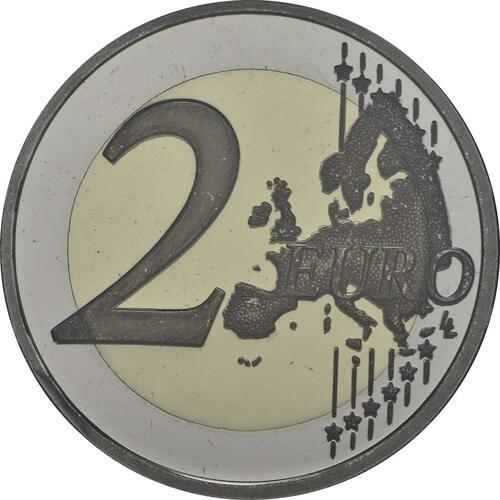 Vorderseite :Portugal : 2 Euro Nelkenrevolution  2014 PP