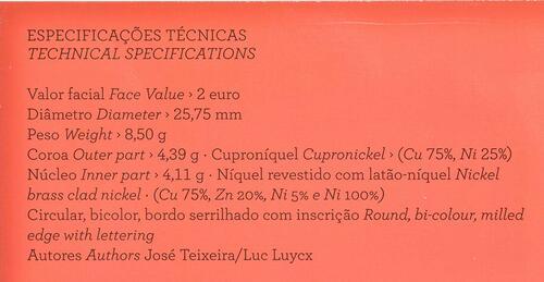 Zertifikat:Portugal : 2 Euro Nelkenrevolution  2014 PP