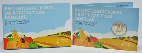 Lieferumfang :Portugal : 2 Euro Internationales Jahr der familiären Landwirtschaft  2014 PP
