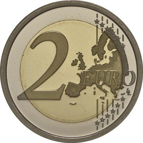 Vorderseite :Italien : 2 Euro Carabinieri  2014 PP