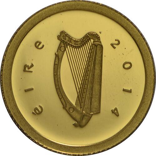 Rückseite:Irland : 20 Euro Schlacht von Clontarf  2014 PP