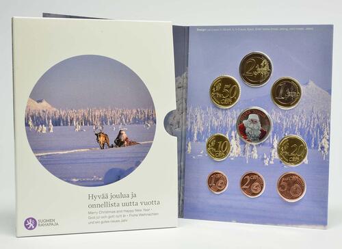 Lieferumfang:Finnland : 3,88 Euro KMS Weihnachten  2014 Stgl.