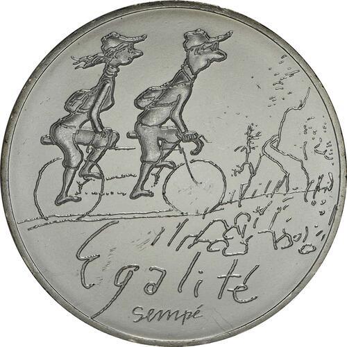Vorderseite:Frankreich : 10 Euro Frühling Egalité  2014 bfr