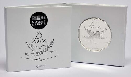 Lieferumfang:Frankreich : 50 Euro Herbst/Winter Paix  2014 PP