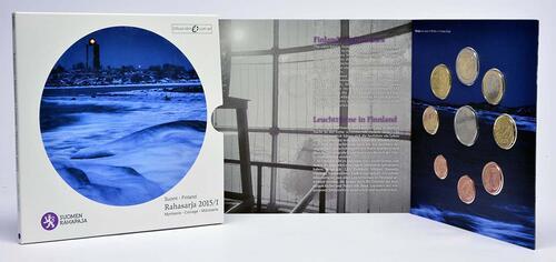 Lieferumfang:Finnland : 3,88 Euro KMS Finnland I. Leuchtturm  2015 Stgl.