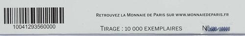 Zertifikat:Frankreich : 2 Euro Föderationsfest  2015 Stgl.