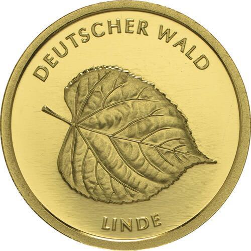 Vorderseite:Deutschland : 20 Euro Linde  2015 Stgl.