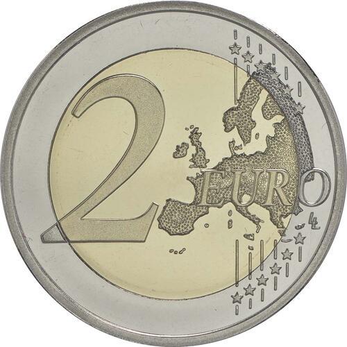 Vorderseite :Finnland : 2 Euro Jean Sibelius  2015 PP