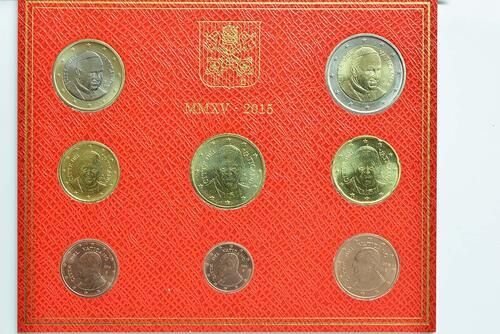 Vorderseite:Vatikan : 3,88 Euro KMS Vatikan  2015 Stgl.