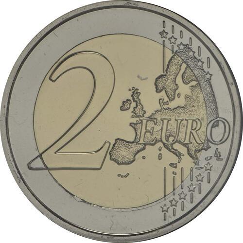 Vorderseite :Portugal : 2 Euro 150 Jahre Rotes Kreuz  2015 Stgl.
