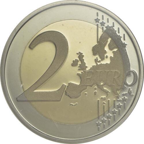 Vorderseite :Portugal : 2 Euro 150 Jahre Rotes Kreuz  2015 PP