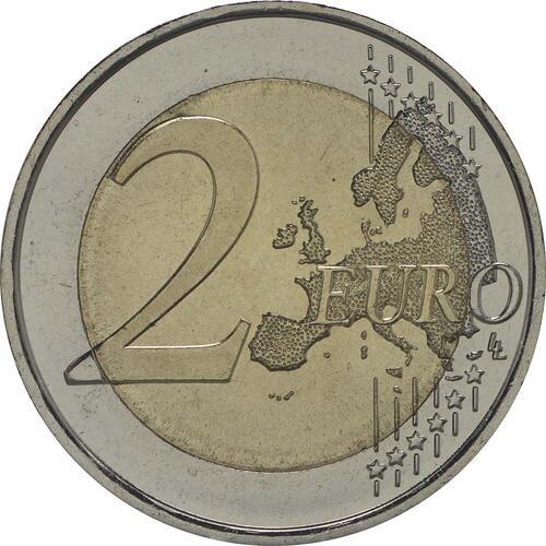 Vorderseite:Spanien : 2 Euro Altamira  2015 bfr