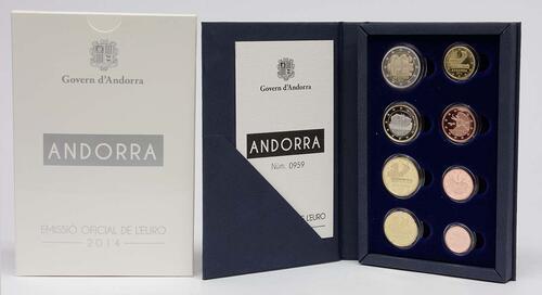 Lieferumfang:Andorra : 3,88 Euro KMS Andorra  2014 PP