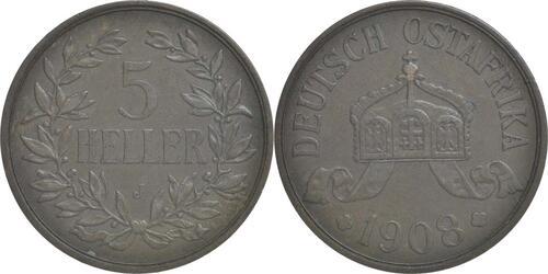 Lieferumfang:Deutschland : 5 Heller   1908 vz.
