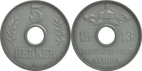 Lieferumfang:Deutschland : 5 Heller   1913 ss/vz.