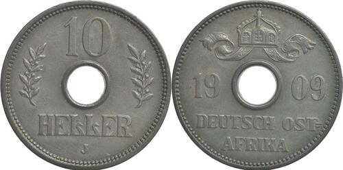 Lieferumfang :Deutschland : 10 Heller   1909 vz.