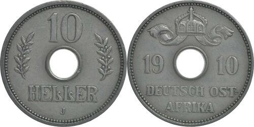 Lieferumfang:Deutschland : 10 Heller   1910 ss/vz.