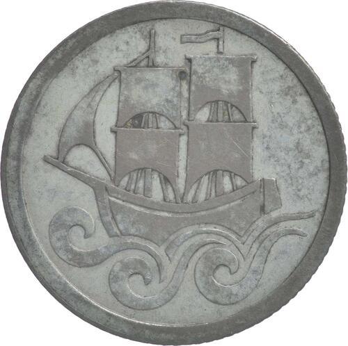Rückseite:Deutschland : 1/2 Gulden  patina 1923 ss/vz.