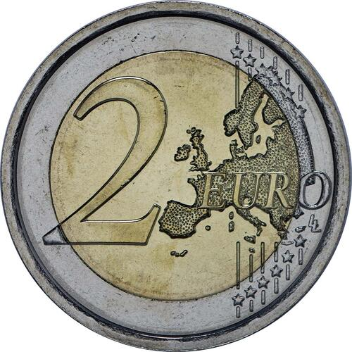 Vorderseite :Italien : 2 Euro Expo Mailand  2015 bfr