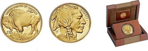 Lieferumfang :USA : 50 Dollar Amerikanischer Büffel 1 oz  2015 PP