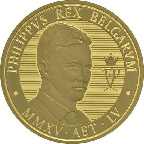 Vorderseite:Belgien : 100 Euro König Philip  2015 PP