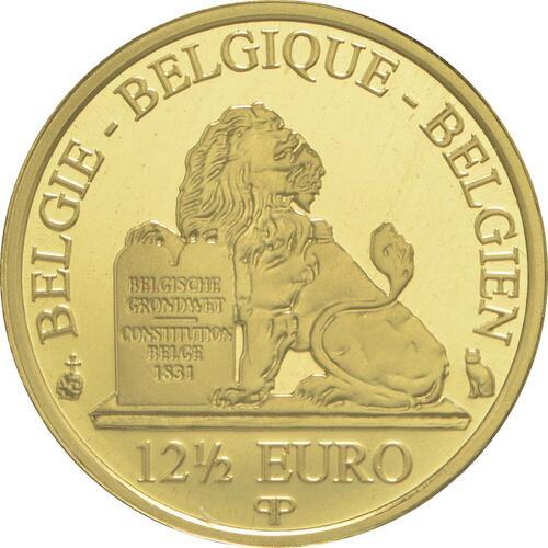 Rückseite:Belgien : 12,5 Euro König Philip  2015 PP