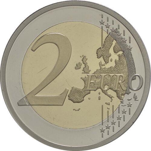 Vorderseite :Zypern : 2 Euro 30 Jahre Europäische Flagge  2015 PP