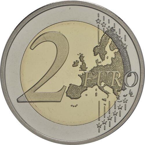 Vorderseite:Finnland : 2 Euro 150. Geburtstag des Künstlers Akseli Gallen-Kallela  2015 PP