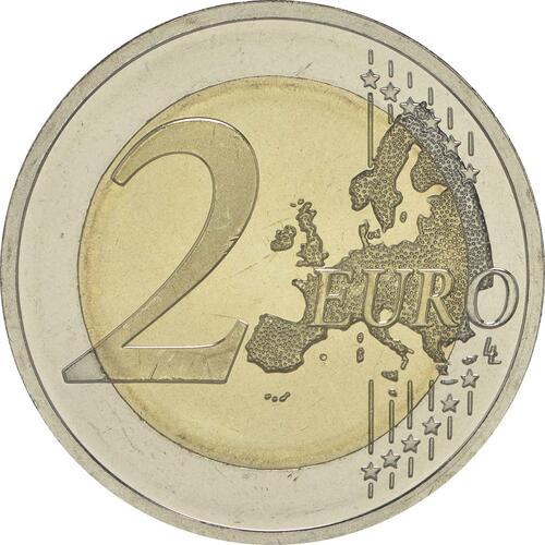 Vorderseite:Litauen : 2 Euro Litauische Sprache  2015 bfr