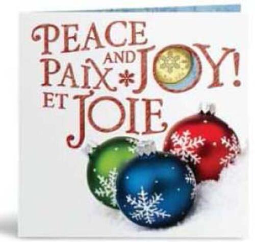 Lieferumfang:Kanada : 3,40 Dollar Weihnachtssatz (Holiday Gift Set) mit Weihnachtsdollar  2015 Stgl.