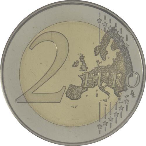 Vorderseite:Spanien : 2 Euro Altamira  2015 PP