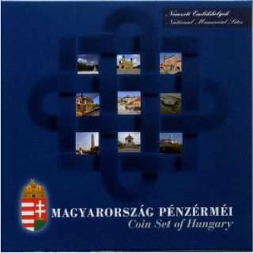 "Lieferumfang:Ungarn : 435 Forint 2015 Kurssatz ""Nationale Gedenkstätten""  2015 PP"