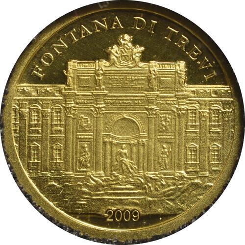 Vorderseite:Palau Islands : 1 Dollar Trevibrunnen  2009 PP