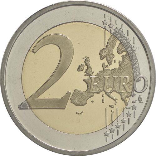 Vorderseite :Slowenien : 2 Euro Emona-Ljubljana  2015 PP