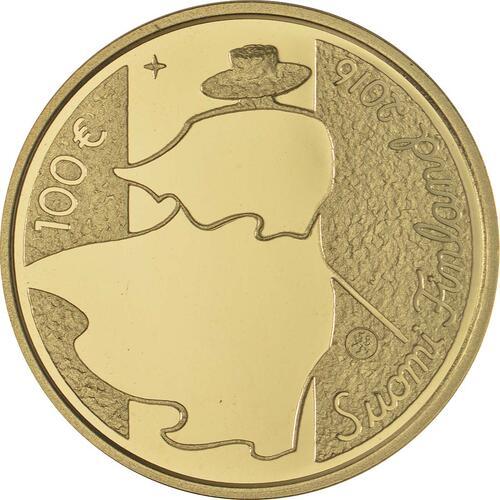 Rückseite:Finnland : 100 Euro Eino Leino  2016 PP