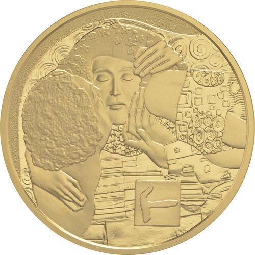 Vorderseite:Österreich : 50 Euro Der Kuss  2016 PP