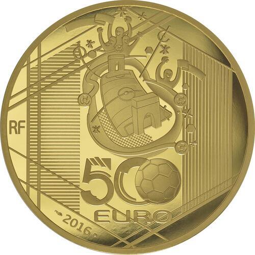 Rückseite:Frankreich : 500 Euro Schuß  2016 PP