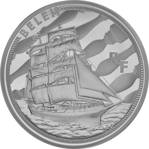 Vorderseite:Frankreich : 10 Euro Bélem  2016 PP