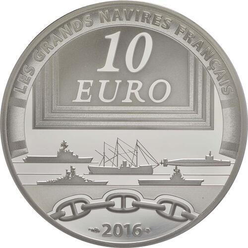 Rückseite:Frankreich : 10 Euro Charles de Gaulle  2016 PP