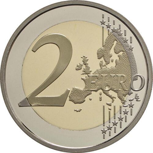 Vorderseite :Frankreich : 2 Euro Mitterrand  2016 PP