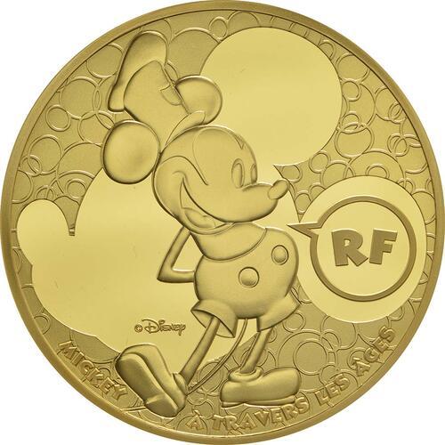 Vorderseite:Frankreich : 200 Euro Micky Maus im Wandel der Zeit  2016 PP