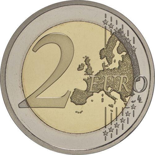 Vorderseite :Irland : 2 Euro 100 Jahre Osteraufstand 1916  2016 PP