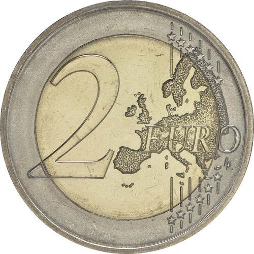 Vorderseite:Deutschland : 2 Euro Sachsen - Dresdner Zwinger  2016 bfr