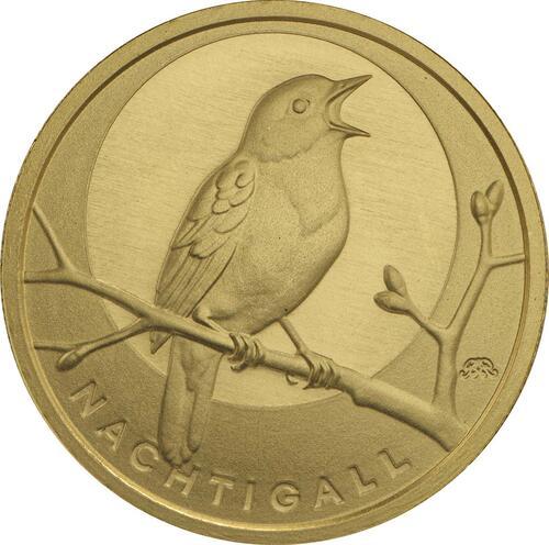 Vorderseite :Deutschland : 20 Euro Nachtigall  2016 Stgl.