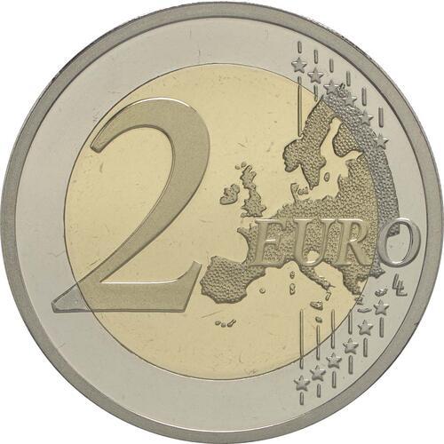 Vorderseite :Griechenland : 2 Euro 75. Todestag von Spyros Louis  2015 PP