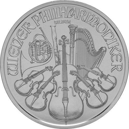 Vorderseite:Österreich : 1,5 Euro Philharmoniker  2016 Stgl.