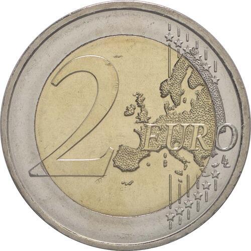 Vorderseite:Österreich : 2 Euro 200 Jahre Oesterreichische Nationalbank  2016 bfr