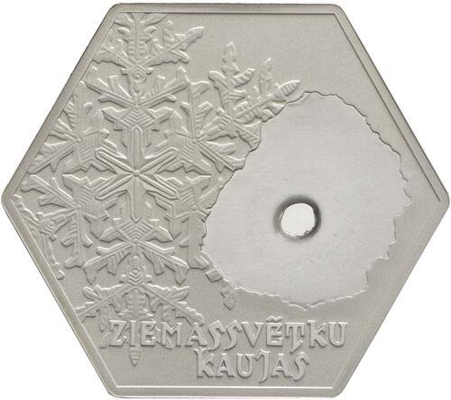 Rückseite:Lettland : 5 Euro 100 Jahre Schlacht an der Aa  2016 PP