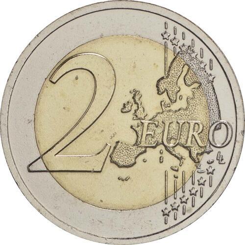 Vorderseite:Lettland : 2 Euro Vidzeme  2016 bfr