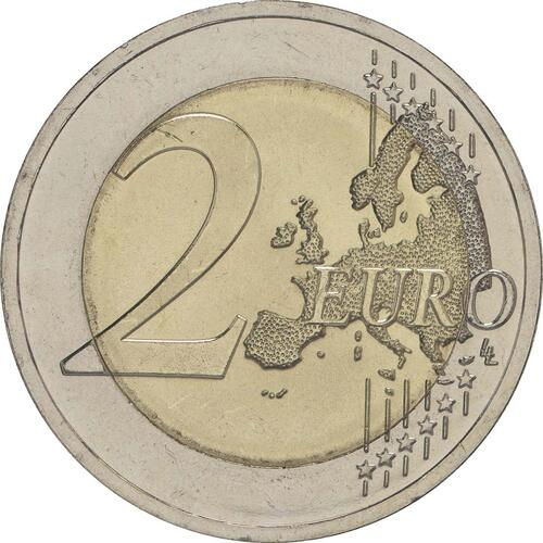 Vorderseite:Litauen : 2 Euro Baltische Kultur  2016 bfr